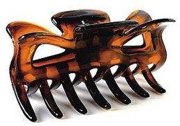 Kup Spinka do włosów FA-5800, duża, bursztynowy kolor - Donegal