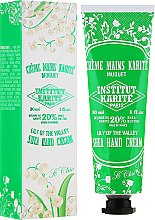 Kup Krem do rąk Konwalia - Institut Karité So Chic Hand Cream Lily of The Valley