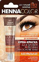 Kup PRZECENA! Krem koloryzujący z henną do brwi i rzęs - FitoKosmetik Henna Color *