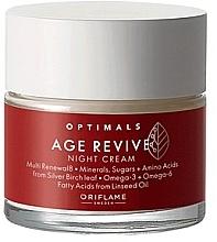 Kup Przeciwstarzeniowy krem do twarzy na noc - Oriflame Optimals Age Revive Cream