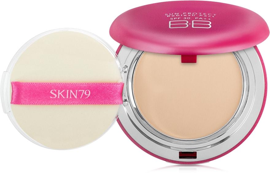 Matujący puder w kompakcie - Skin79 Sun Protect Beblesh Pact SPF30 PA++ — фото N2