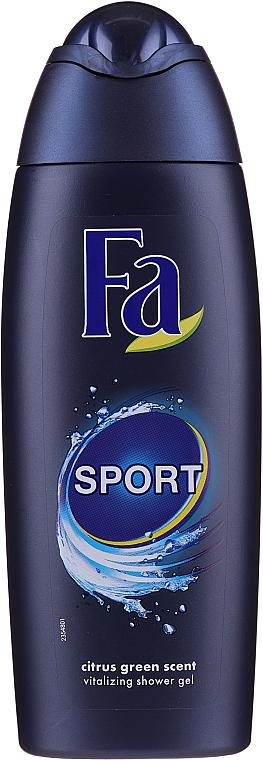 PRZECENA! Zestaw - Fa Men Sport (sh/gel/250ml + deo/spray/150ml + ash/lot/100ml) * — фото N2