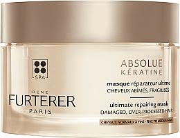 Kup Intensywnie regenerująca maska do włosów zniszczonych i osłabionych - Rene Furterer Absolue Keratine Ultimate Repairing Mask