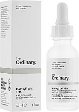 Kup Peptydowe serum do twarzy z kwasem hialuronowym - The Ordinary Matrixyl 10% + HA