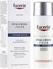 Kup Nawilżający krem przeciwstarzeniowy do twarzy na noc - Eucerin Hyaluron-Filler Anti-Age Night Creme