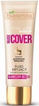 Kup Kryjący fluid do twarzy - Bielenda Total Look Make-Up Nude Cover