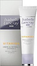 Kup Krem do twarzy z retinolem i witaminą E - Isabelle Lancray Retinol Cream Vitamin E