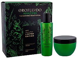 Kup Zestaw - Orofluido Amazonia Set (shm/200ml + mask/250ml)