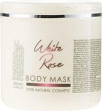 Kup Maska do ciała Biała róża - Sezmar Collection Professional Body Mask White Rose