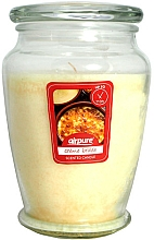 Kup Świeca zapachowa w słoiku Crème brûlée - Airpure Creme Brulee Scented Candle