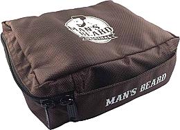 Kup Męska kosmetyczka podróżna, MB210 - Man's Beard Brown Men's Toiletry Bag