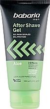 Kup Żel po goleniu dla mężczyzn - Babaria After Shave Gel 3 Effects Aloe Vera