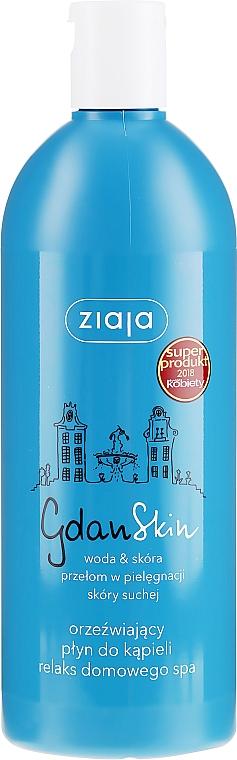 Orzeźwiający płyn do kąpieli Relaks domowego spa - Ziaja GdanSkin