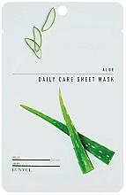 Kup Nawilżająca maska na tkaninie do twarzy z ekstraktem z aloesu - Eunyul Daily Care Mask Sheet Aloe