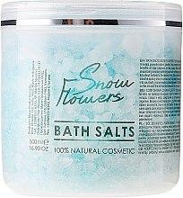 Kup Sól do kąpieli Płatki śniegu - Sezmar Collection Professional Snow Flowers Bath Salts