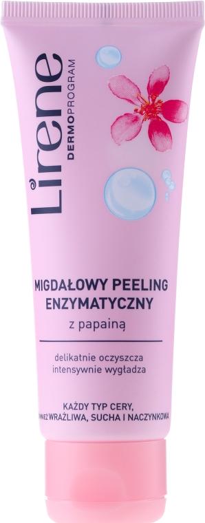 Migdałowy peeling enzymatyczny z papainą - Lirene Dermoprogram