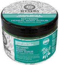 Kup Zmiękczający peeling ziołowy do ciała Nordycka brzoza i miodla indyjska - Iceveda