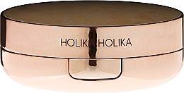 Kup Rozświetlacz do konturowania twarzy w gąbce cushion - Holika Holika Strobing Water Brilliance Cushion