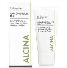 Kup Fluid do twarzy z kwasami AHA - Alcina AHA 10%