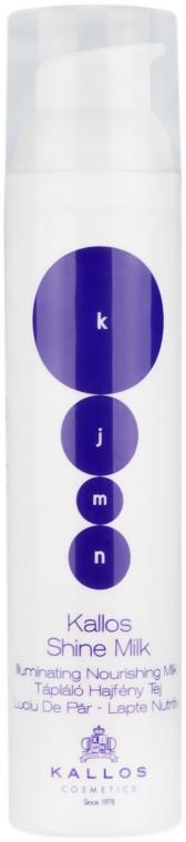 Mleczko do włosów - Kallos Cosmetics KJMN Shine Milk — фото N1