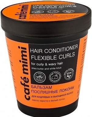 Odżywka ujarzmiająca loki - Café Mimi Flexible Curls Conditioner