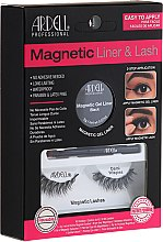 Kup Zestaw - Ardell Magnetic Lash & Liner Lash Demi Wispies (eye/liner/2g + lashes/2pc)