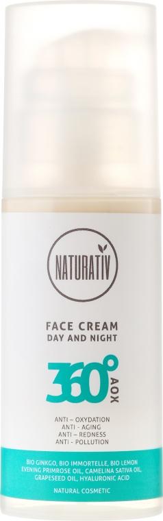Krem do twarzy - Naturativ 360° AOX Facial Cream For Day & Night