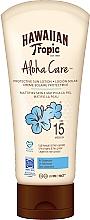Kup Balsam do ciała z filtrem przeciwsłonecznym - Hawaiian Tropic Aloha Care Protective Sun Lotion Mattifies Skin SPF 15