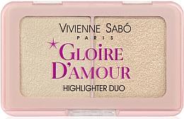 Kup Paleta rozświetlaczy do twarzy - Vivienne Sabo Vs Gloire D'Amour