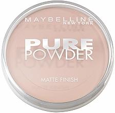 Kup Puder do twarzy - Maybelline Pure Powder Matte Finish