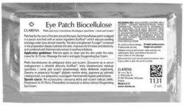 Kup Maska do orbitalnej strefy na podstawie biocelulozy eliminująca obrzęki i cienie - Clarena Cosmetic Pads Eye Patch Biocellulose