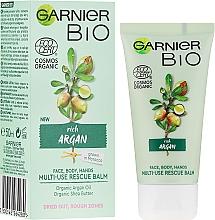 Kup Multifunkcyjny krem do twarzy i ciała z olejem arganowym - Garnier Bio Rich Argan Multi-Use Rescue Balm