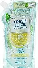 Kup Orzeźwiający płyn micelarny z bioaktywną wodą cytrusową do cery szarej i zmęczonej - Bielenda Fresh Juice (uzupełnienie)