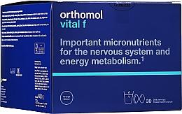 Kup Witaminy w granulkach + kapsułki + tabletki ze stewią (kuracja na 30 dni) - Orthomol Vital F