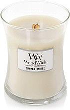 Świeca zapachowa w szkle - WoodWick Hourglass Candle Smoked Jasmine — фото N2