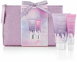 Kup Zestaw - Style & Grace Glitz & Glam Glitter Bag Gift Set (h/lot/50ml + lip gloss/10ml + bag)