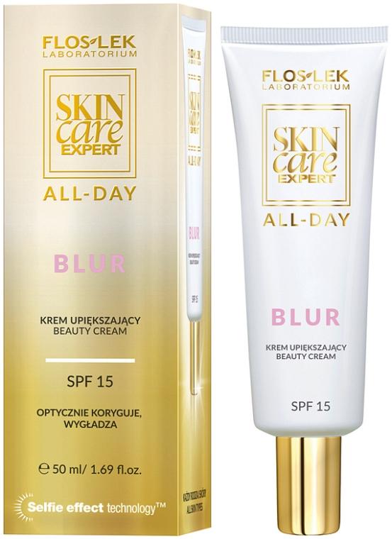 Krem upiększający SPF 15 - Floslek Skin Care Expert All-Day Blur