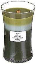 Kup Świeca zapachowa w szkle - WoodWick Hourglass Trilogy Candle Mountain Trail