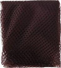 Kapturek-siateczka do włosów, 65125, brązowy - Top Choice — фото N2