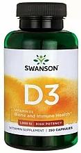 Kup Witamina D3 w kapsułkach - Swanson Vitamin D-3 1000