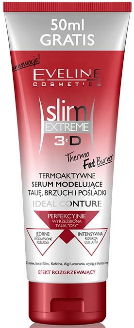 Termoaktywne serum modelujące talię, brzuch i pośladki - Eveline Cosmetics Slim Extreme 3D