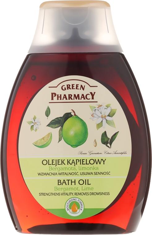 Olejek kąpielowy Bergamotka i limonka - Green Pharmacy
