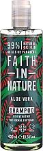 Kup Szampon do włosów normalnych i suchych Aloes - Faith In Nature Aloe Vera Shampoo