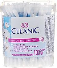 Kup Patyczki kosmetyczne, 100 szt., w pudełku - Cleanic Face Care Cotton Buds