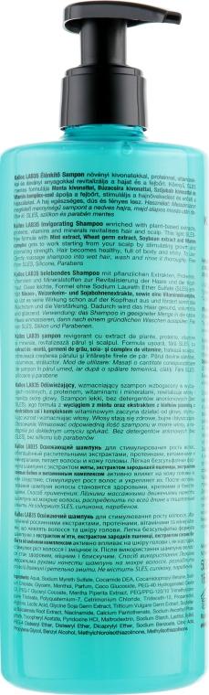 Odświeżający szampon stymulujący porost włosów - Kallos LAB 35 Invigorating Shampoo — фото N2