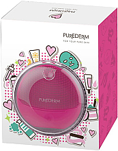 Kup Szczoteczka do mycia twarzy, różowa - Purederm Sonic Face Brush Pink