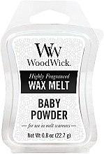 Kup Wosk zapachowy - WoodWick Wax Melt Baby Powder
