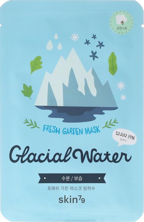 Odświeżająca maseczka do twarzy na tkaninie - Skin79 Fresh Garden Mask Glacial Water — фото N1