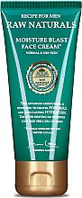 Kup Krem nawilżający do twarzy dla skóry normalnej i suchej - Recipe For Men RAW Naturals Moisture Blast Face Cream