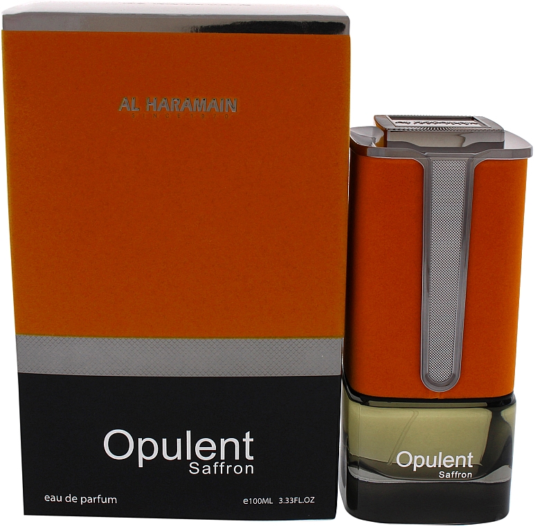 Al Haramain Opulent Saffron - Woda perfumowana — фото N1